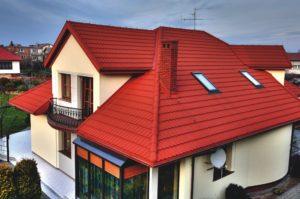 Крыши загородного дома